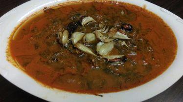 Thambde Bhaji(Red Amaranth) Randai(Gravy))