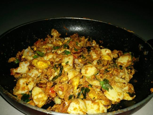 Egg Dry Masala
